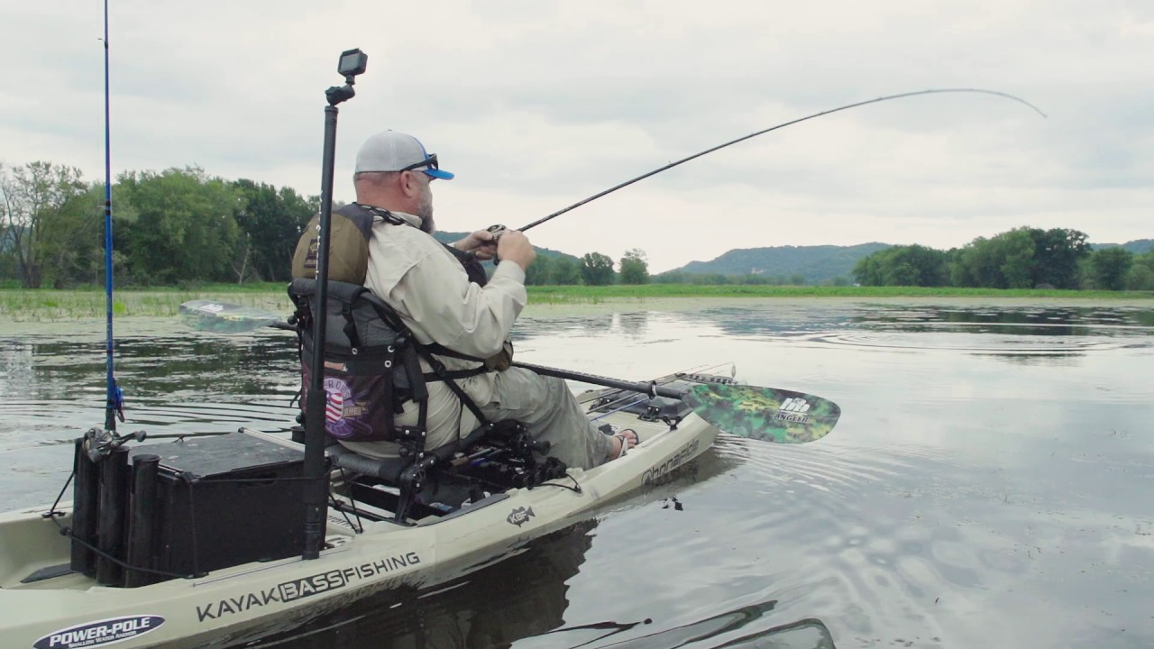 Kayak fishing la crosse wisconsin mississippi river for Kayak fishing louisiana