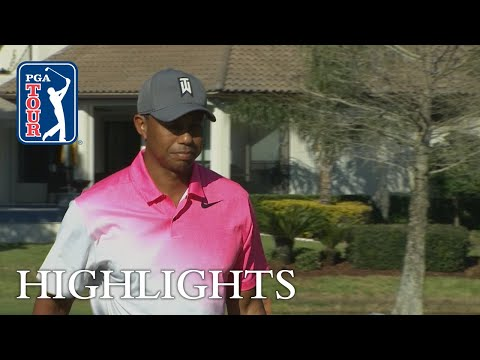 Tiger Woods' highlights | Round 2 | Arnold Palmer