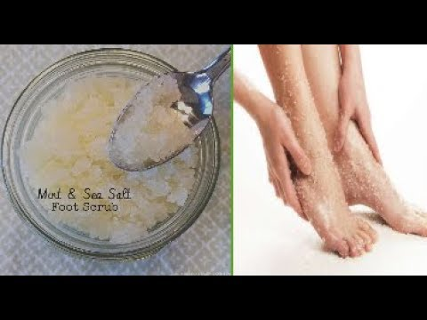 Mint And Sea Salt: Amazing Foot Scrub For Soft And Beautiful Feet