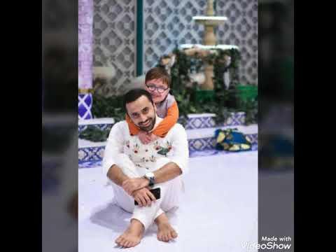 Beautiful bonding between Waseem Badami & Daacc Sahb (Cute Little baby Ahmed Shah)
