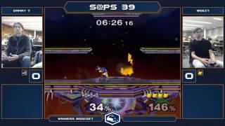 S@PS 39 Melee Singles - Danny T (Falco/Fox) vs Weezy (Pikachu) - Winners Bracket