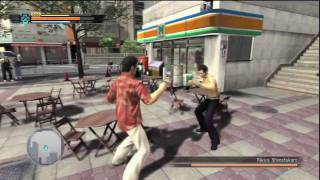 Yakuza 3 Gameplay