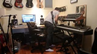 Shure Wireless Bass Guitar Sound Test