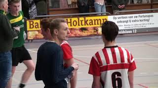 Fortuna Delta Logistiek A1  tegen Groen Geel: 1e play-off wedstrijd