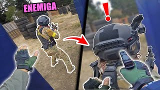 GRAB AN ENEMY FROM THE BACK 😈❗️ ▬ Airsoft Gameplay 🔥