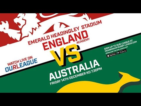 England Academy v Australian Schools 2nd Test