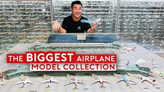 The World's Biggest Airplane Model Collection