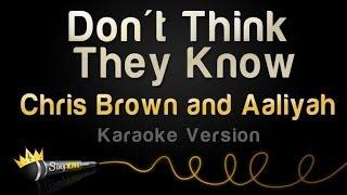 Chris Brown and Aaliyah - Don