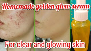 GLOW SERUM for face   Gives CLEAR and GLOWING SKIN   For all skin types