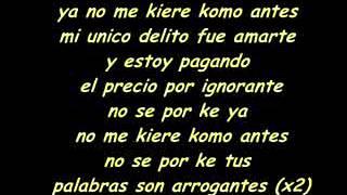 ñengo flow ya no me quieres como antes : by alex