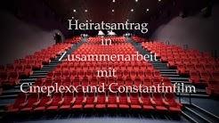 Heiratsantrag Cineplexx Hohenems (Wedding Proposal)