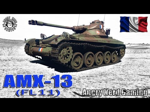 War Thunder: AMX-13 (FL11), French, Tier-3, Light Tank
