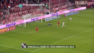 Mancuello, la llave del fútbol del Rojo. Fútbol Para Todos