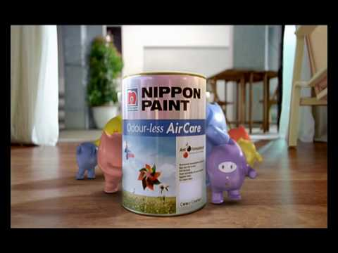 Nippon Paint Odour-less AirCare TVC 30s