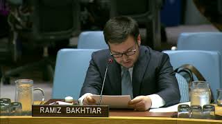 Afghan Youth Makes First Ever Address To UNSC Meeting