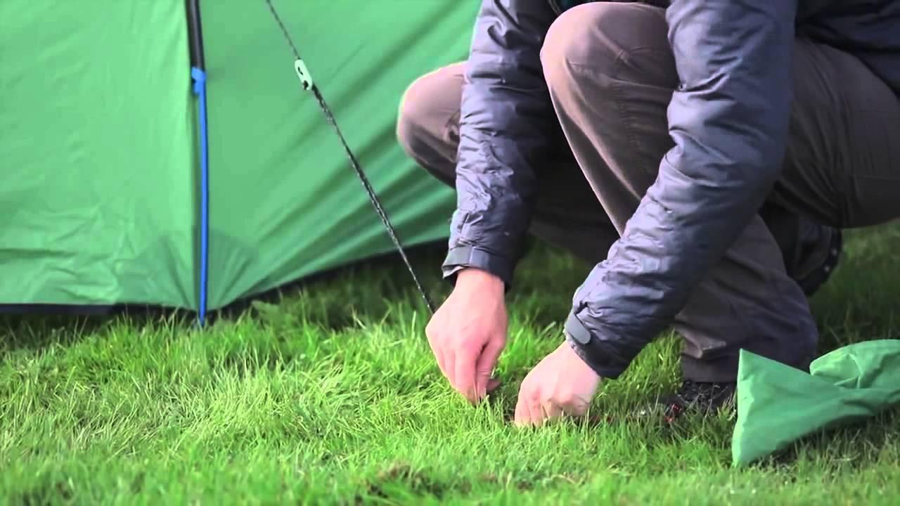 Terra Nova Hoolie Tent Pitching Guide & Terra Nova Hoolie Tent Pitching Guide - YouTube