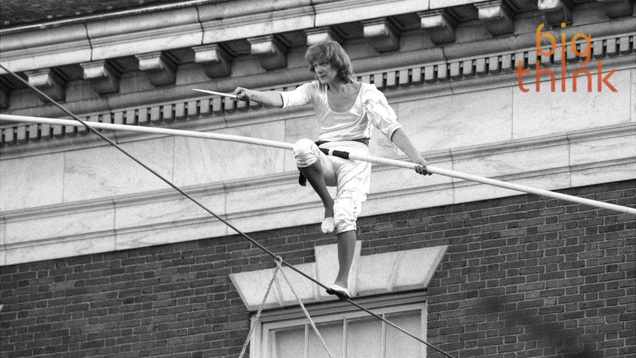 The Art of Balance, with Philippe Petit - YouTube