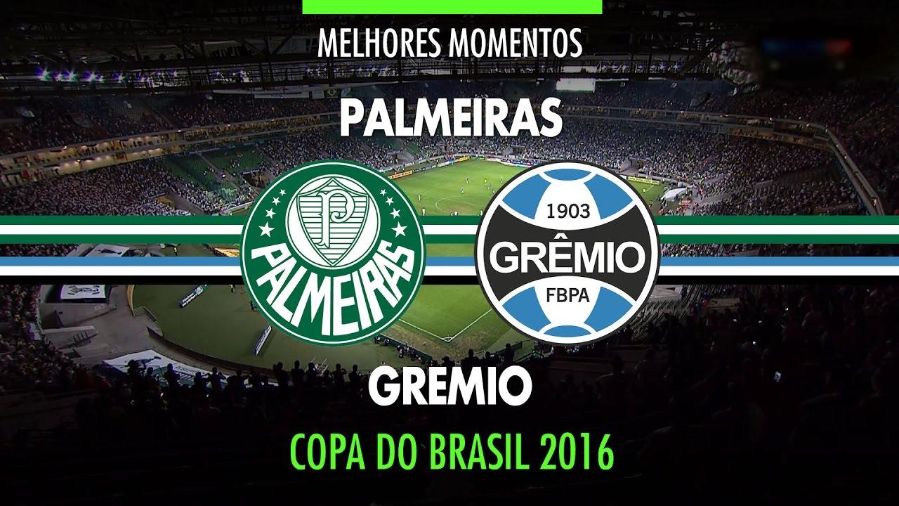 Melhores Momentos - Palmeiras 1 x 1 Grêmio - Copa do ...