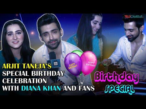Arjit Taneja spills his birthday secrets with co-star Diana Khan | Birthday Special | TellyChakkar