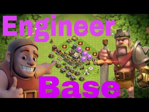 How to make a engineer base