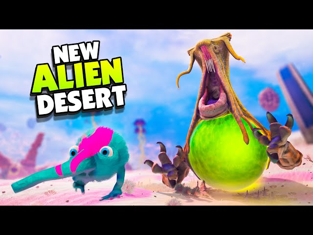 GIANT ALIENS Are Hunting Me In The DESERT! - The Eternal Cylinder