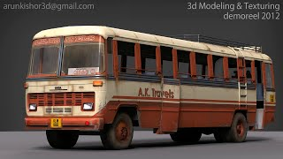 3d Modeling & Texturing demoreel 2012 by Arun kishor