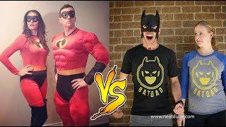 EhBeeFamily VS BatDad Instagram Videos | Who is the Winner?