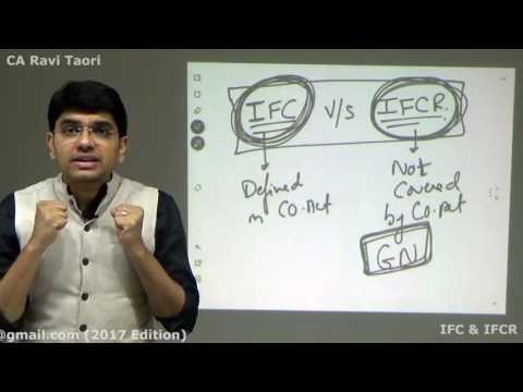 IFC & IFCR