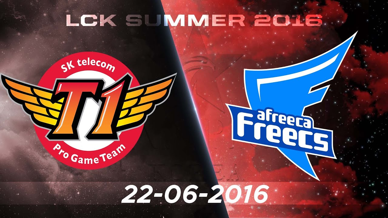[22.06.2016] SKT vs Afreeca [LCK Hè 2016][Ván 2] - YouTube