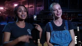 monica raymund shwason lauren german leslie shay gabriela dawson chicago fire interview