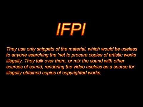 IFPI copyright nazis