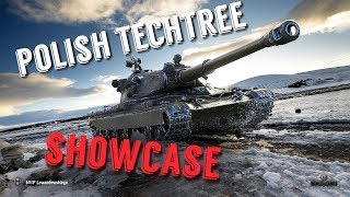 Polish Tank Techtree Showcase
