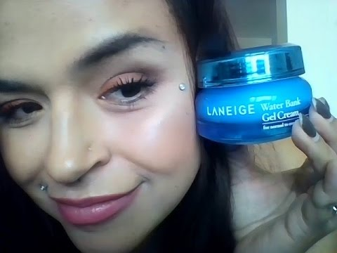 LANEIGE Water Bank Gel Cream - Review- INFLUENSTER - YouTube