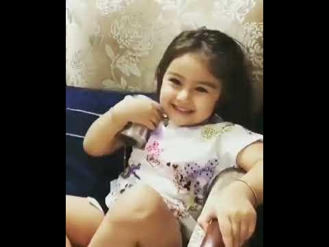Hello Friends Chai Peelo.. Garam Hai .. Cute Baby Girl Video