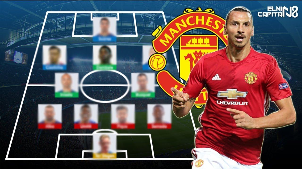 Ibrahimovic Kembali Ke MU Beginilah Formasi Manchester United Untuk Musim Depan 2017 18