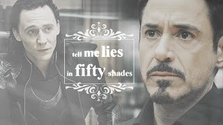 Tony + Loki | hurt me, hurt me again