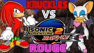 ABM: Knuckles Vs Rouge Sonic Adventure 2 Battle