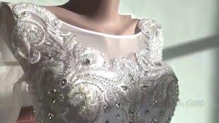 Видеообзор роскошного свадебного платья из последней коллекции от интернет-магазина ya-nevesta.com