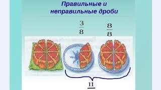 #2 Урок 2. Правильные и неправильные дроби. Математика 5 класс.