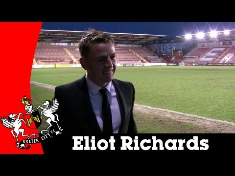 Eliot Richards post-Portsmouth | Exeter City Football Club