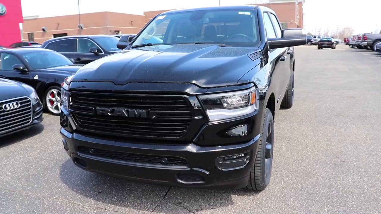 2018 ram night edition for sale near me