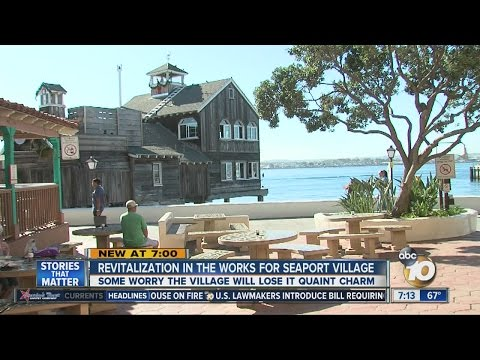 Revitalization in the works for Seaport Village