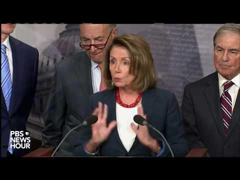 WATCH: Sen. Schumer, Rep. Pelosi discuss GOP tax plan