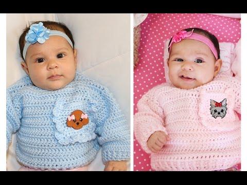 Glama's Easy Newborn Pullover Sweater