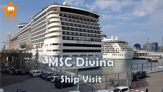 Inspired by the legendary Sophia Loren, the gorgeous MSC Divina spa...