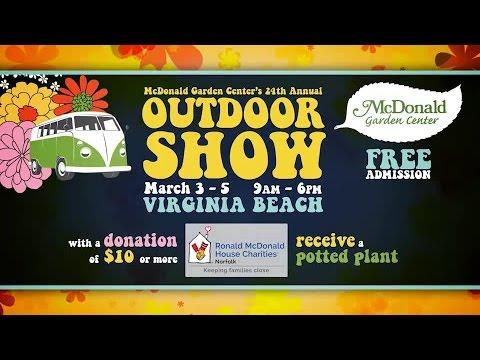 Mcdonald Garden Center Outdoor Show Youtube