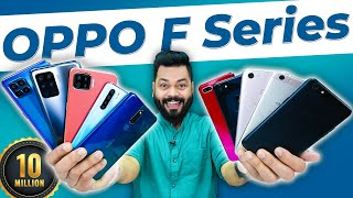 Download From OPPO F1s To OPPO F19 Pro+ ⚡ Evolution Of The OPPO F Series | 10 Million Units Sold!