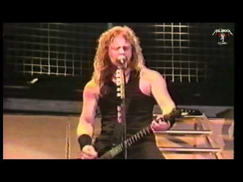 Metallica - Master of puppets - Moscow Tushino airfield - 1991