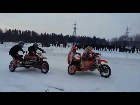Зимние гонки в Городце!