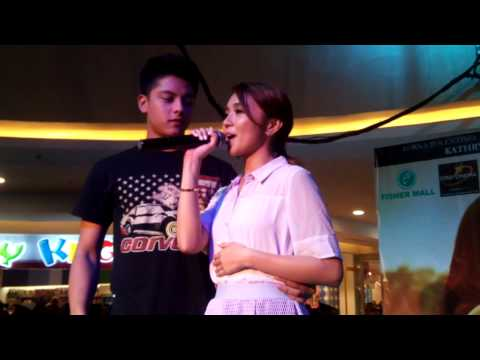 Kathryn Bernardo and Daniel Padilla LIVE 'Nothing's Gonna Stop Us Now'